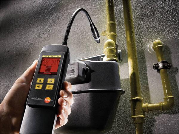 Műszeres gázszivárgás ellenőrzés